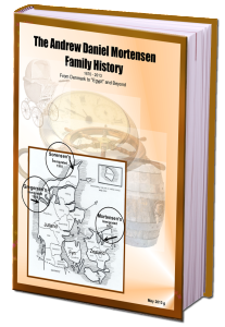 Andrew Daniel Mortensen Family History Book