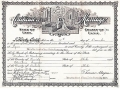 Marriage Certificate (Andrew and Christina)